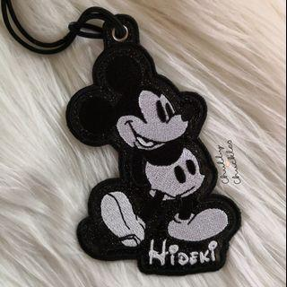 Mickey Mouse tag, luggage, name tag