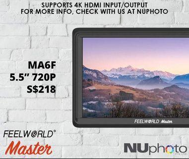 Feelworld Master MA6F 5.5' 720P Monitor