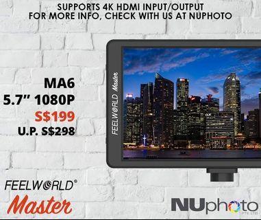 FeelWorld Master MA6 5.7' 1080p Monitor