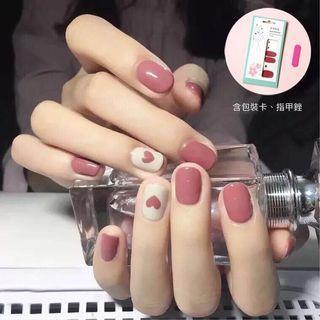 🚚 ★波波小舖★ 法式彩繪指甲貼 輕鬆打扮你的手指 就是要美美的