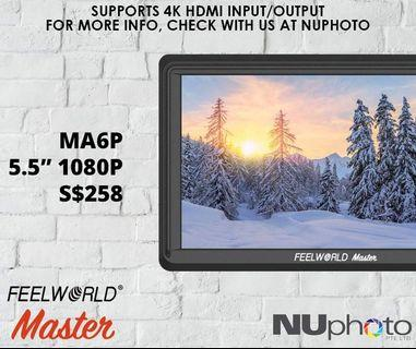 FeelWorld Master MA6P 5.5' 1080p Monitor