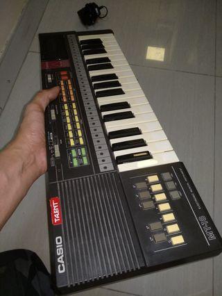 日本制經典CASIO Casiotone 32key 細鍵電子琴 rom pack