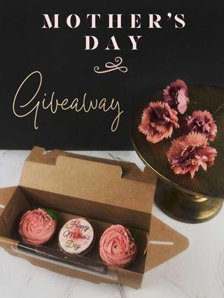 Mother's Day cupcake giveaway!