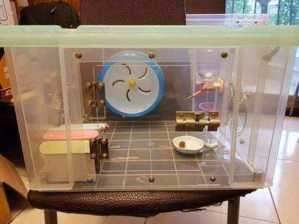 *九鼠一家DIY工坊* 改造整理箱 K016 成家專案 僅限小型鼠