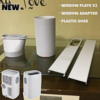 BRAND NEW Portable aircon Hose, Window adaptor and Window plate kit duct/ducting/dryer/vent/plastic hose/exhaust hose