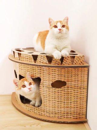 貓咪🐱磨抓抓別墅