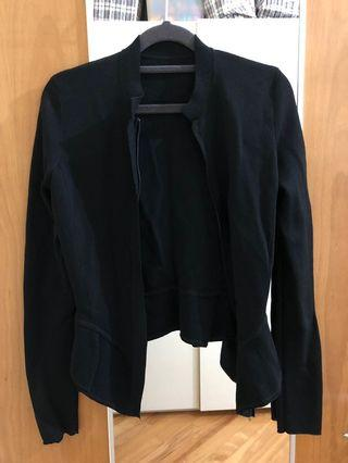 Women's black cardigan / jacket