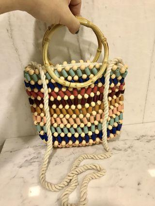 Mini Rattan bag