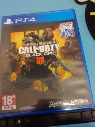 Ps4 Call of duty : black ops4