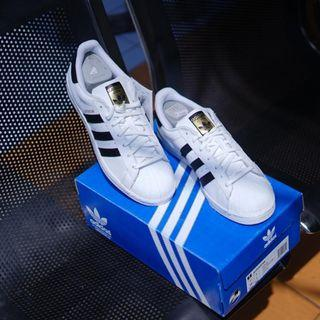 ADIDAS ORIGINALS SUPERSTAR fondation footwear white/coreblack/gold *BNIB*
