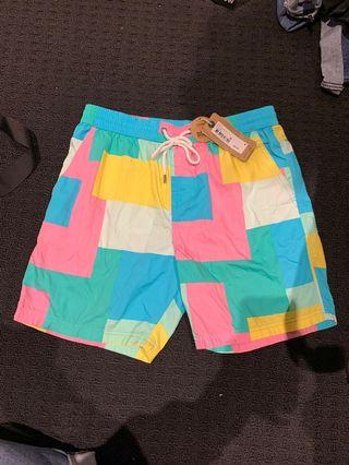 cotton on shorts colourful
