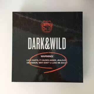 BTS Dark & Wild Album with PC