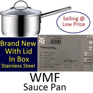 WMF Saucepan 16cm with Lid - Brand New in Box