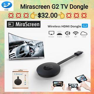 MiraScreen G2 Wireless WiFi Display Dongle Receiver 1080P HD TV Stick DLNA Airplay Miracast DLNA for Smart Phones Tablet PC to HDTV Monitor
