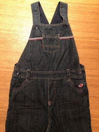 🚚 二手 OBAIBI 86cm  吊帶長褲連身衣 包屁衣 2歲 1歲 嬰兒 兒童