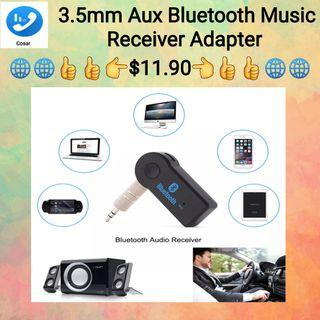 3.5MM Bluetoot AUX Audio Car Kit Wireless Bluetooth Receiver Speaker Headphone Adapter Hands-free Music Receiver For Smartphone