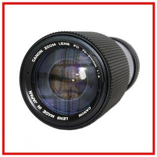 Canon FDn 70-210mm F4 Manual Zoom Lens (Canon FD Mount)
