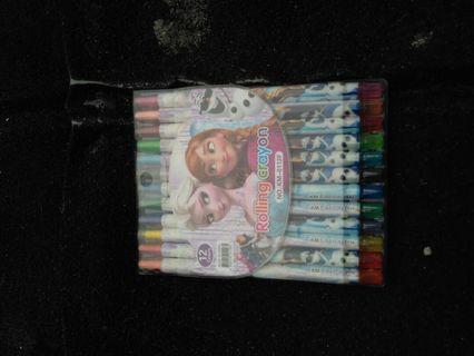 Rolling crayon karakter