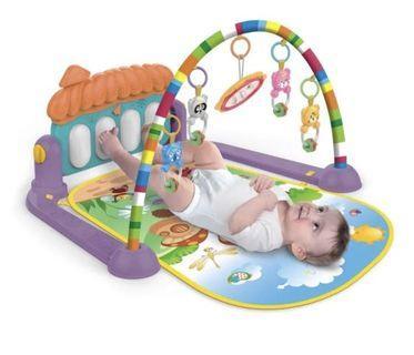 Baby Gym play gym piano fitness rack