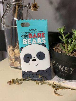 we bare bears miniso (iphone 6/6s) 🐼