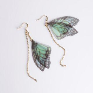 Butterfly Wings Dangle Earrings (PO)