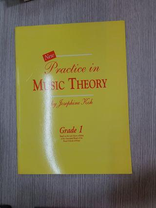 Practice in Music Theory by Josephine Koh