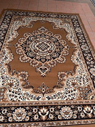 Large carpet (B) approx 116 inch *91 inch