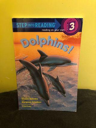 90% new Step into Reading (level 3) Dolphins