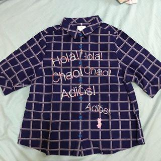 Gozo藍色襯衫
