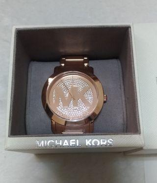 Mk手錶玫瑰金