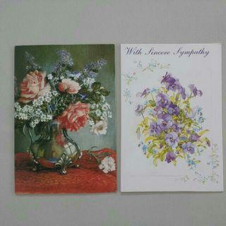 Brand New Greeting Card Speedy Recovery OR Sincere Sympathy