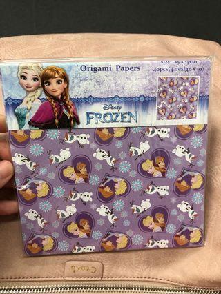 Elsa 摺紙 Frozen Anna