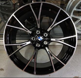 """20"""" BMW M perfomance rim fitment for G series"""