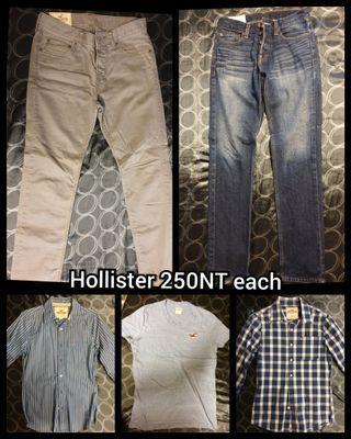 Clothes Hollister (X-XS) 250 each