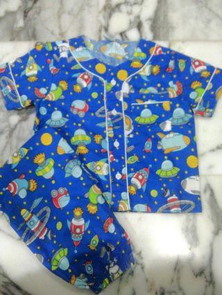 Spaceship Boys Pyjamas
