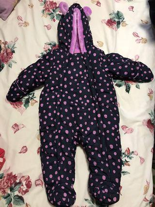 Winter Jacket for baby BNWOT fits 0-6 months