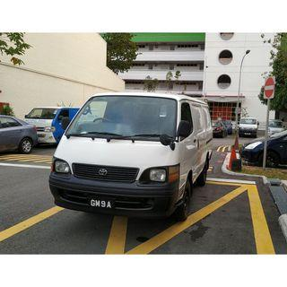 2003 Toyota Hiace Dissel Manual For Lease