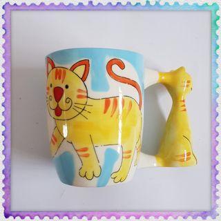 Cat Miao kucing 3D Mug Cup 猫咪杯