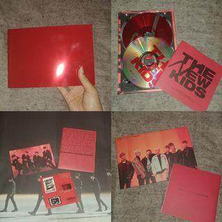 iKON NEW KIDS REPACKAGE RED SHARING GOODS