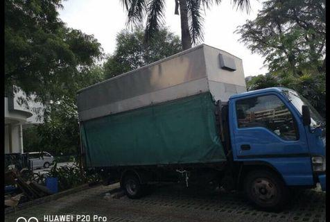 Cheapest rental 14ft lorry (class 3)