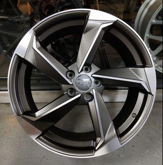 "19"" AUDI RS design rim for AUDI, VW, SKODA, SEAT"
