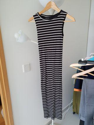 Striped Dress #EndgameYourExcess