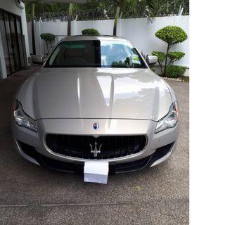 Maserati Quattroporte Sports GTS