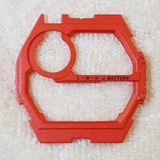 Original GW-9400 Rangeman Red Face Plate, Outer Dial Casio G-shock