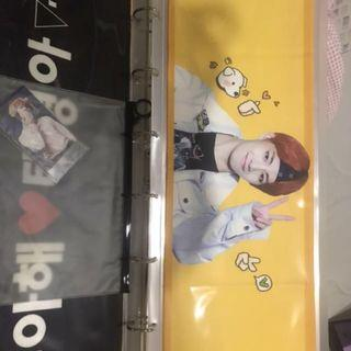 BTS V Taetae summer slogan towel fansite