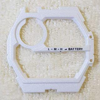 Original GW-9400 Rangeman White Face Plate, Outer Dial Casio G-shock
