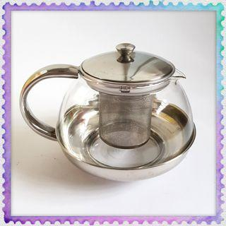 Multiply multifunction glass Tea Pot kettle 800ml