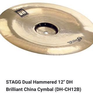 CLEARANCE SALE-STAGG 12 DH Brilliant China Cymbal