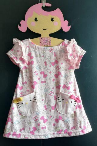 (現貨包郵)日單 Kitty 連身裙