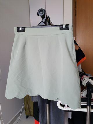 Pastel green Skirt #EndgameYourExcess